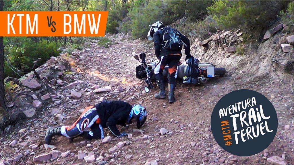 KTM vs BMW | Aventura Trail Teruel |Cabras Sobre Ruedas