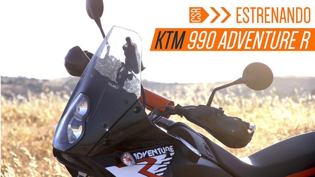 Estrenando KTM 990 adventure | Cabras Sobre Ruedas