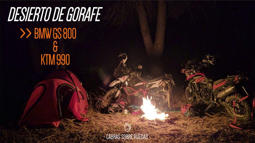 BMW GS800 & KTM 990 Adventure | Desierto de Gorafe | Cabras Sobre Ruedas