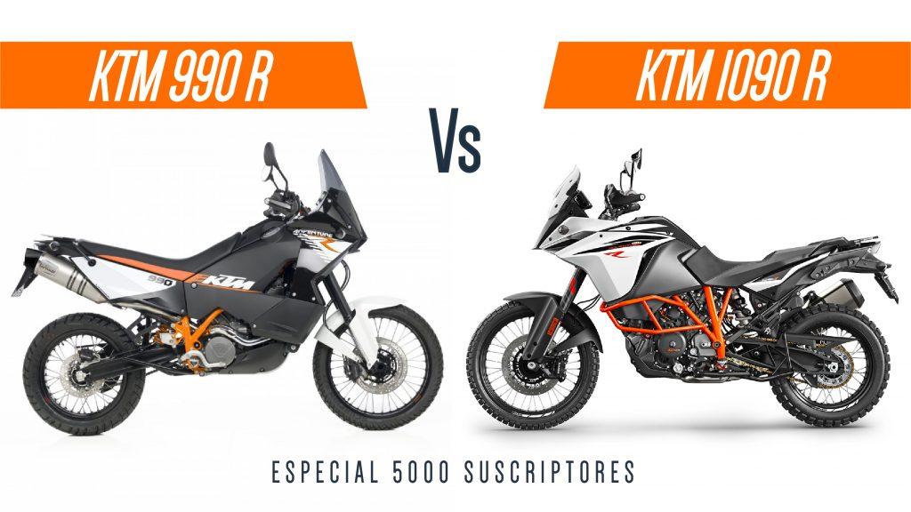 Comparativa KTM 1090R & KTM 990R | Especial 5000 suscriptores | Cabras Sobre Ruedas