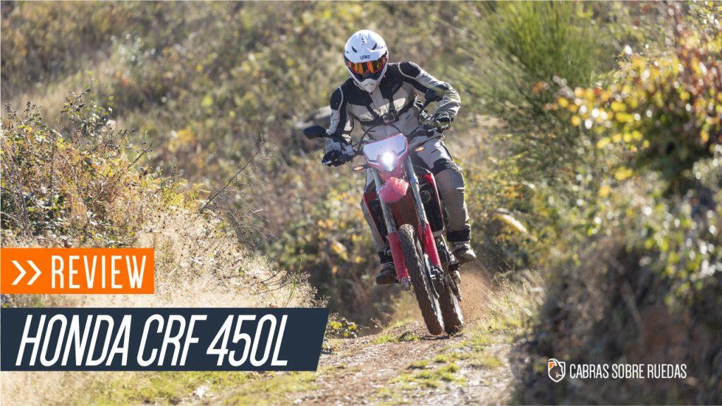 Review Honda CRF450L | Español | Cabras Sobre Ruedas