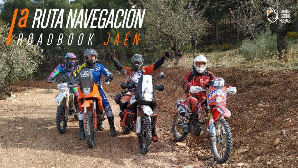 I Ruta Navegación RoadBook Jaén | Cabras Sobre Ruedas