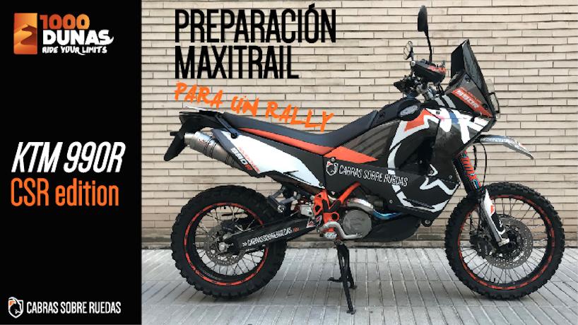 Preparación moto maxitrail para un rally ¡Y SORPRESA! | Cabras Sobre Ruedas