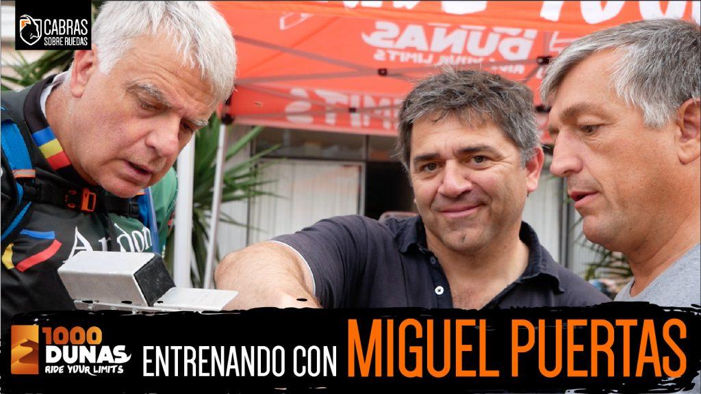 Entrenando con Miguel Puertas | 1000 Dunas | Cabras Sobre Ruedas