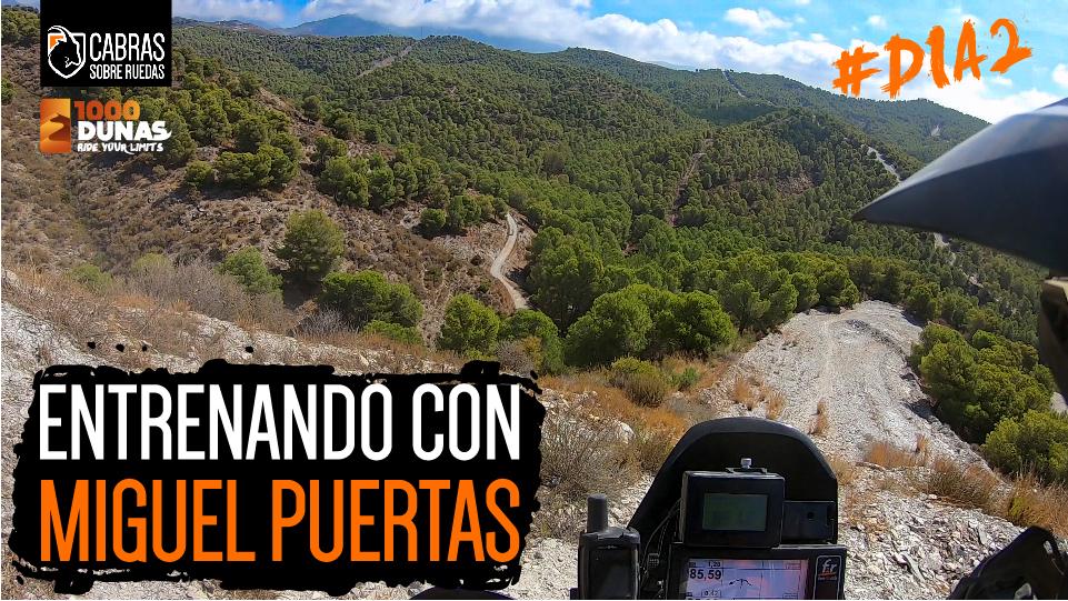 Entrenando con Miguel Puertas (día 2) | 1000 Dunas | Cabras Sobre Ruedas